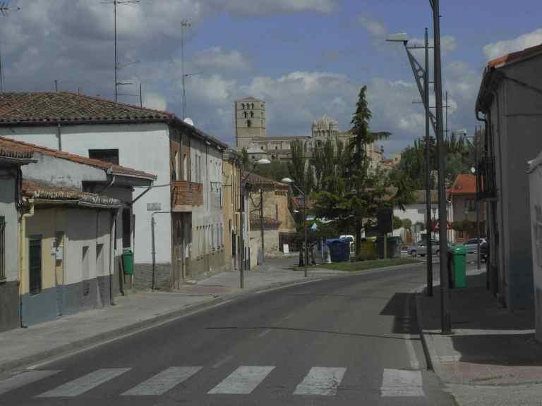 La entrada a la ciudad