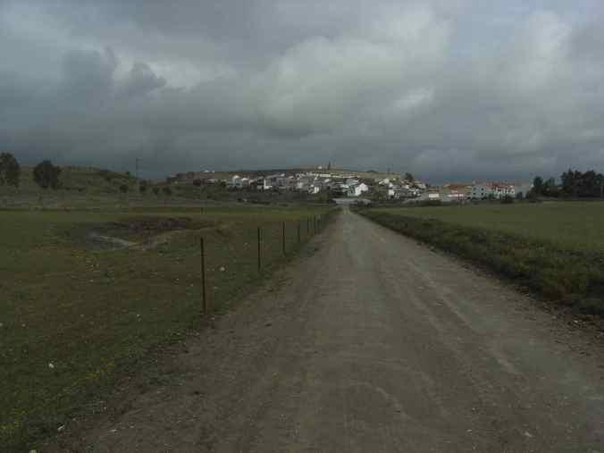 Llegada a Galisteo