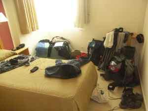 Habitación de hostal en Carcaboso