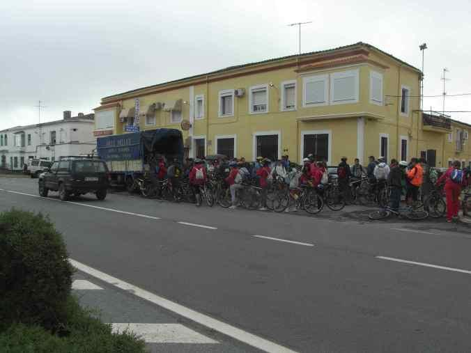 Manifestación ciclista