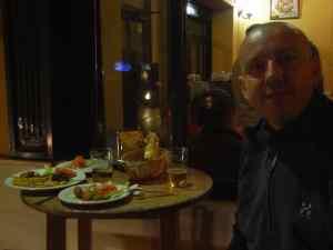 La cena en Sevilla es una maravilla.