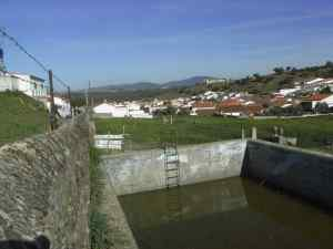 Vista de entrada al Real de la Jara