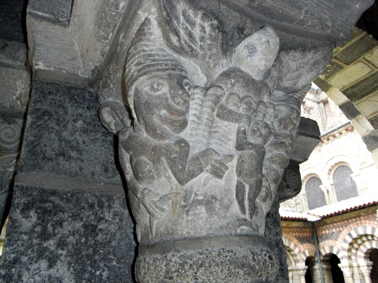 Detalle del claustro de la catedral