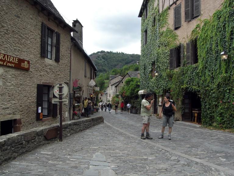 Las calles abarrotadas de turistas