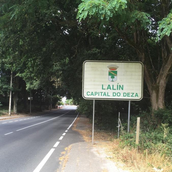 Entrada a Lalín