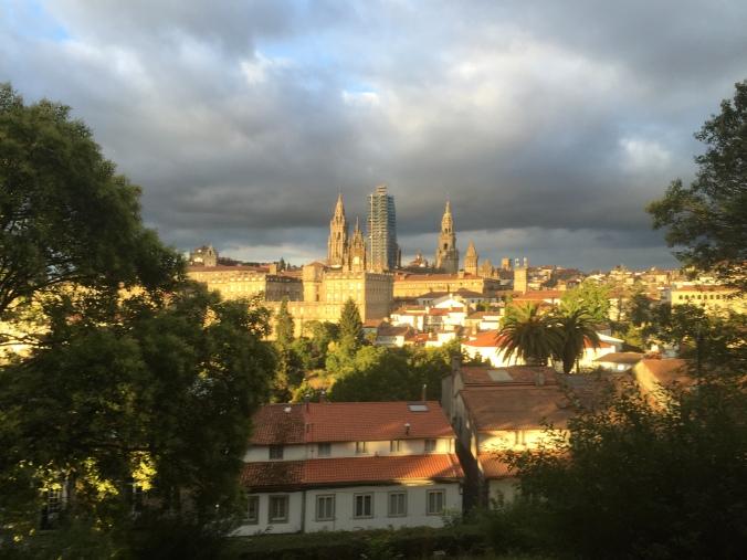 Vistas desde el parque de la catedral