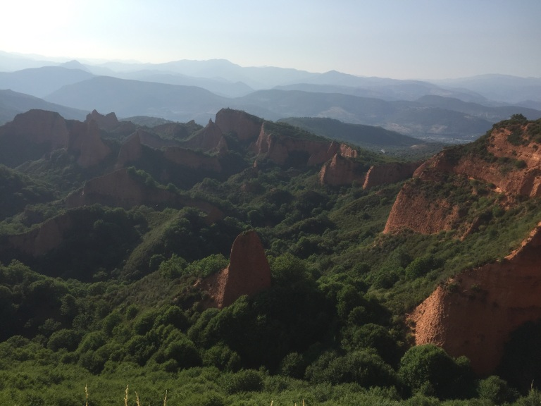 Vista general de Las Médulas