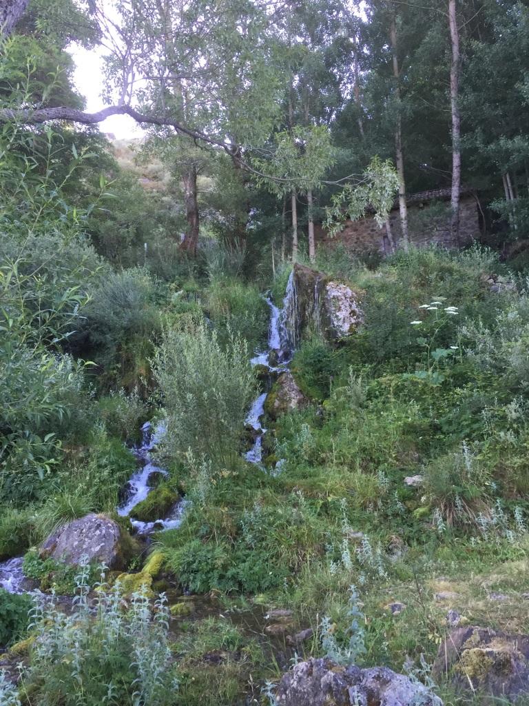 Cascada a la salida de Barniedo