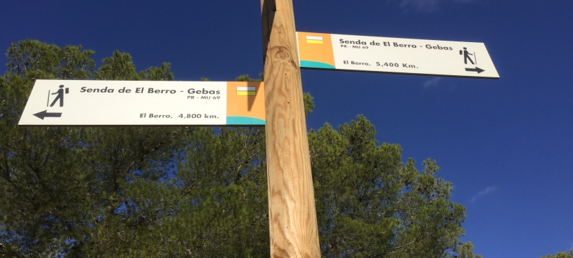 Sierra Espuña: El Berro –Gebas