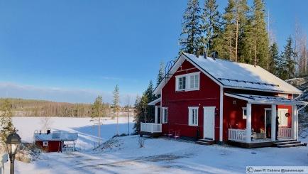 Nuestra cabaña. Markkulan Marjatila en Multia