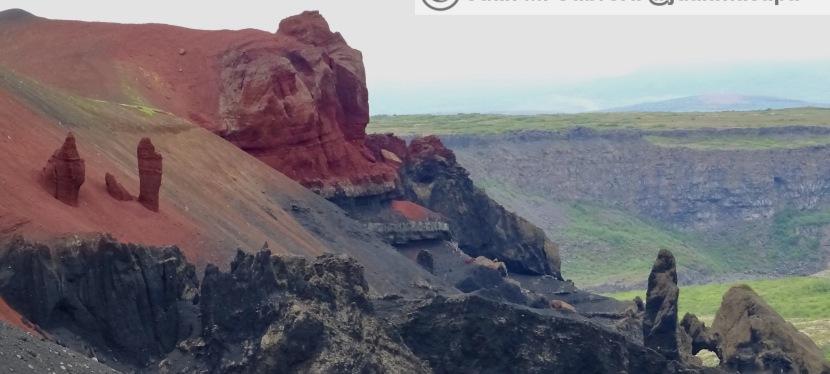 Hljóðaklettar y cañónAsbyrgi