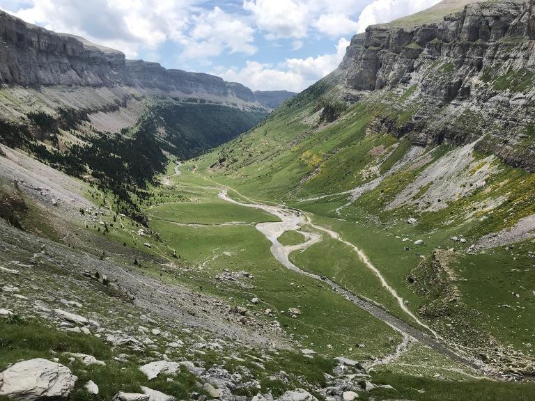 imagen del valle de Ordesa