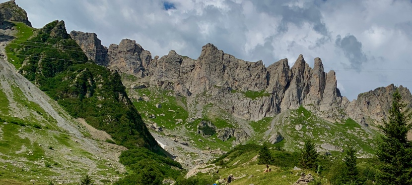 Tour del Mont Blanc 2ª etapa: Refugio Tré de la Tête – Refugio de la Croix duBonhomme