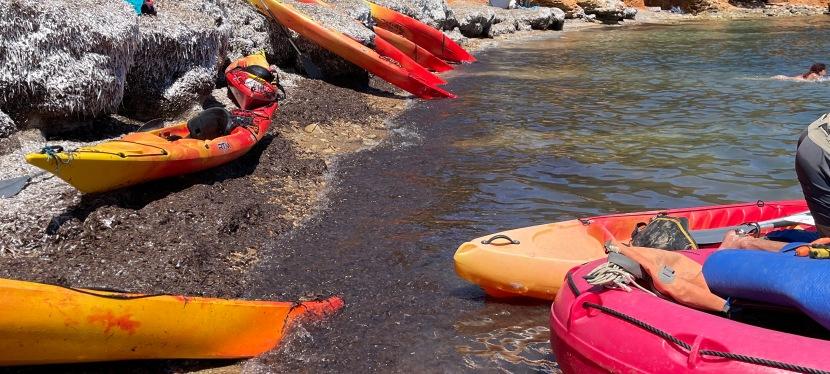 Vuelta a Ibiza en Kayak. Julio2021